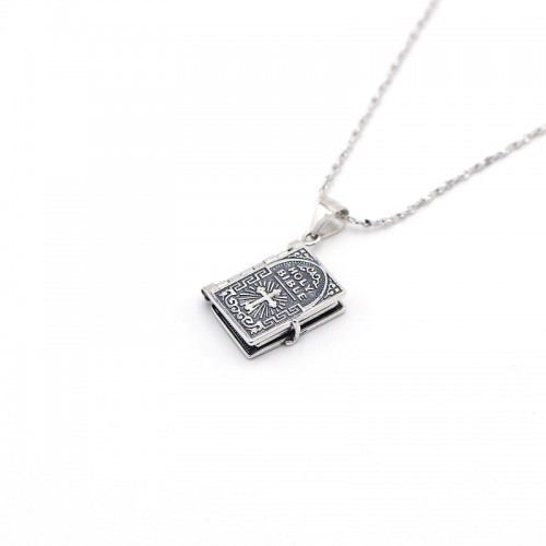 925 Silver Bible Necklace