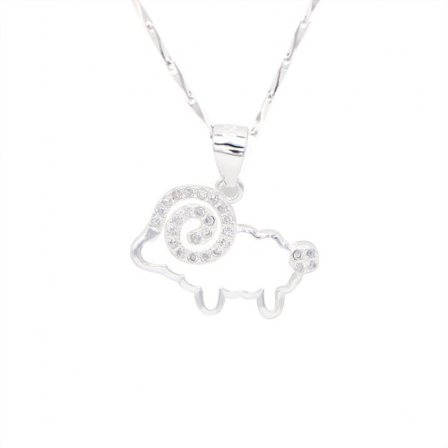 925 Silver Necklace - Sheep