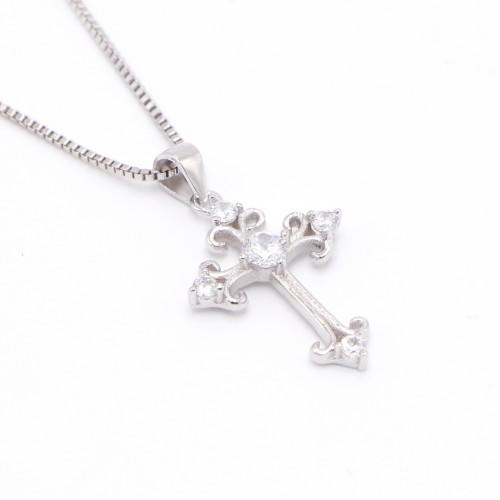 925純銀 十字架項鍊 / 頸鍊