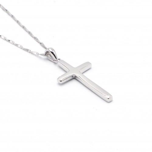 925 Silver Cross Necklace