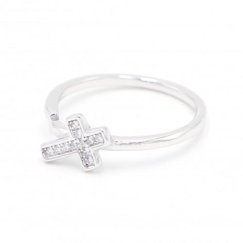 925純銀 十字架 戒指