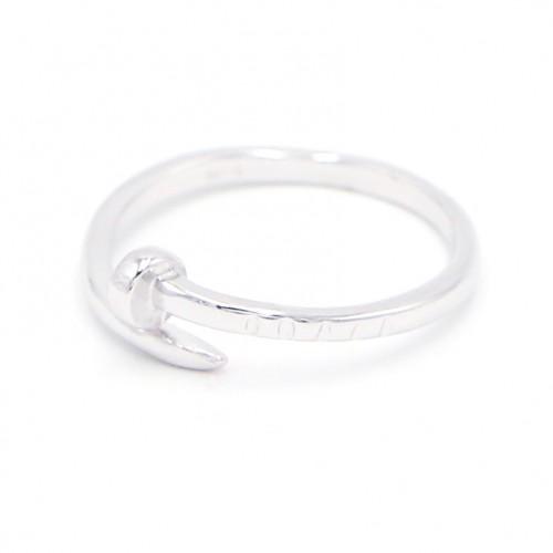 925 Silver Ring - Nail