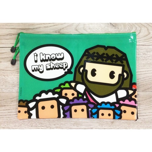 Mini Jesus B4 document bag