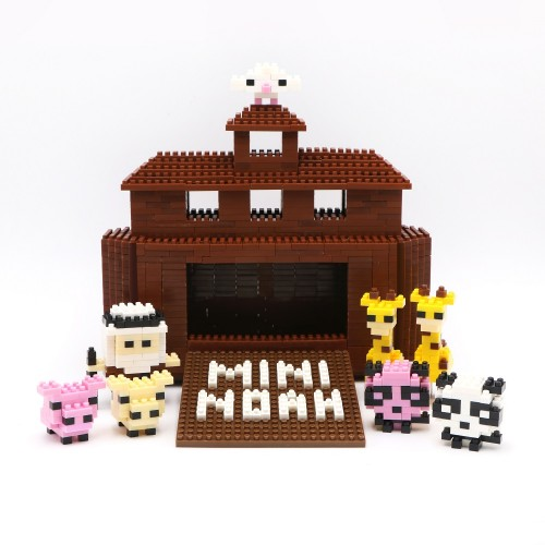 Mini Noah and Ark Life Blocks