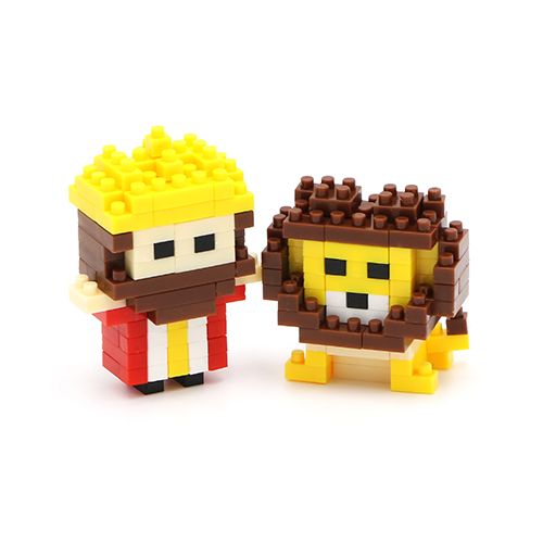 Mini Jesus-Crown With Lion Life blocks