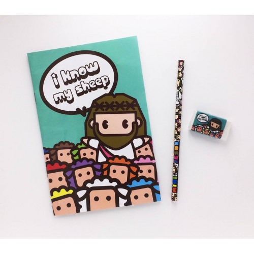 Mini Jesus Stationery Set