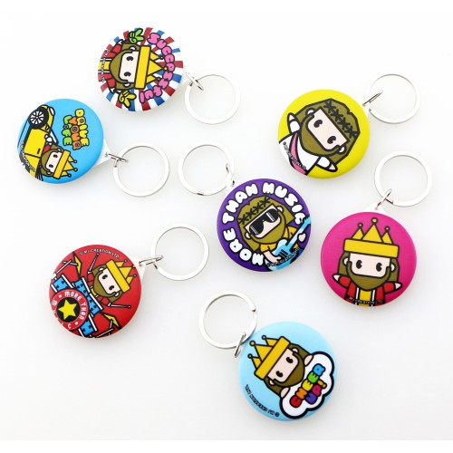 Mini Jesus Key Chain and Mirror