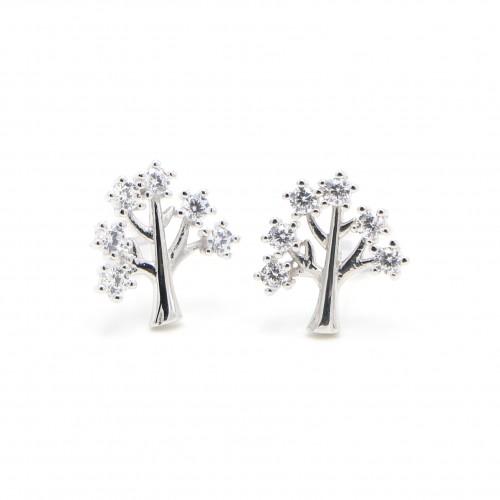 925 Silver  Ear Rings - Life tree