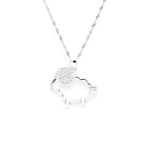 925 Silver Necklace - Sheep