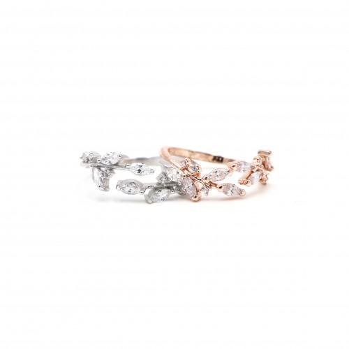 925 Silver Branch Ring