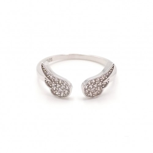 925 Silver Wings Ring
