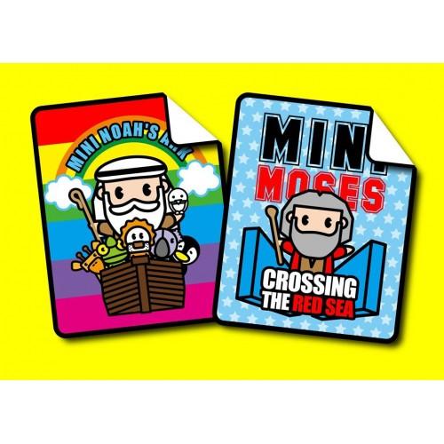 Mini Moses / Mini Noah-Flannel Blanket